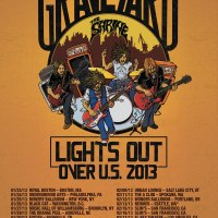 GRAVEYARD - Announce Lights Out Over U.S. Tour 2013