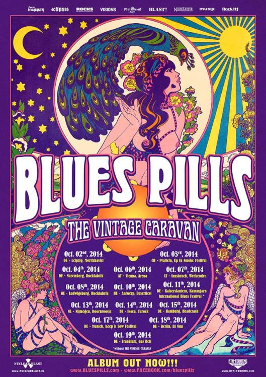 Blues Pills & The Vintage Caravan