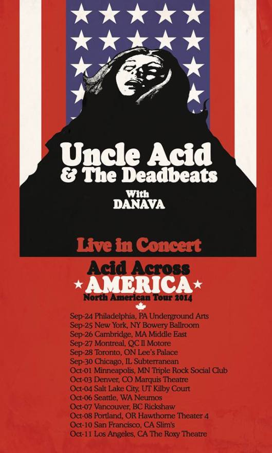 Uncle Acid North America Tour